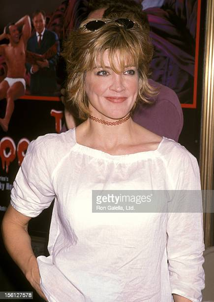 Actress Crystal Bernard attends the Third Annual Broadway Barks Adoptathon on July 14 2001 at Shubert Alley in New York City New York