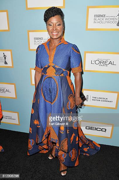 Actress Crystal Fox attends the 2016 ESSENCE Black Women In Hollywood awards luncheon at the Beverly Wilshire Four Seasons Hotel on February 25 2016...