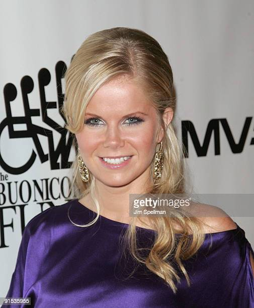 Actress Crystal Hunt attends the 24th Annual Great Sports Legends Dinner at The Waldorf=Astoria on October 6 2009 in New York City