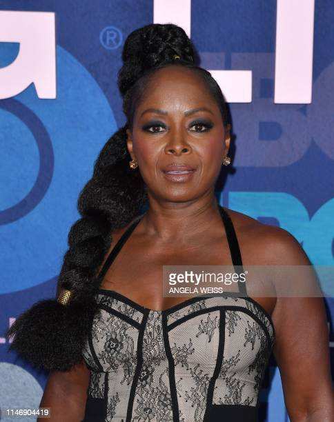 US actress Crystal R Fox attends HBO's Big Little Lies Season 2 premiere at Jazz at Lincoln Center on May 29 2019 in New York City