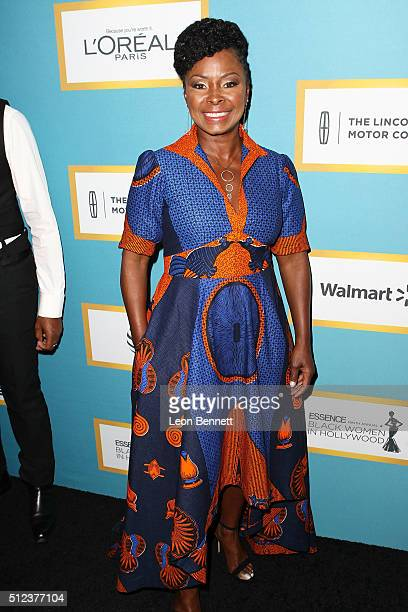 Actress Crystal R Fox attends the Essence 9th Annual Black Women In Hollywood at the Beverly Wilshire Four Seasons Hotel on February 25 2016 in...
