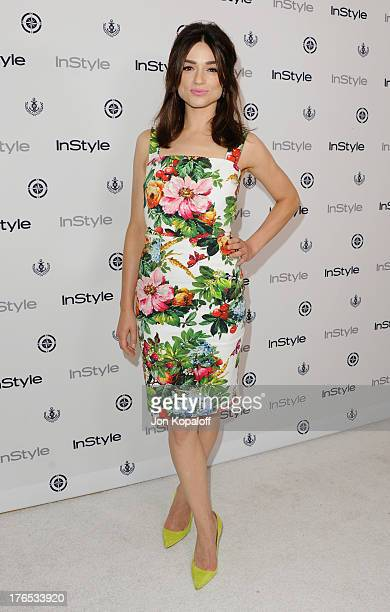 Actress Crystal Reed arrives at the 13th Annual InStyle Summer Soiree at Mondrian Los Angeles on August 14 2013 in West Hollywood California