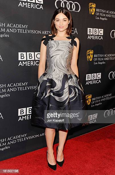 Actress Crystal Reed arrives at the BAFTA Los Angeles TV Tea 2013 on September 21 2013 in Beverly Hills California