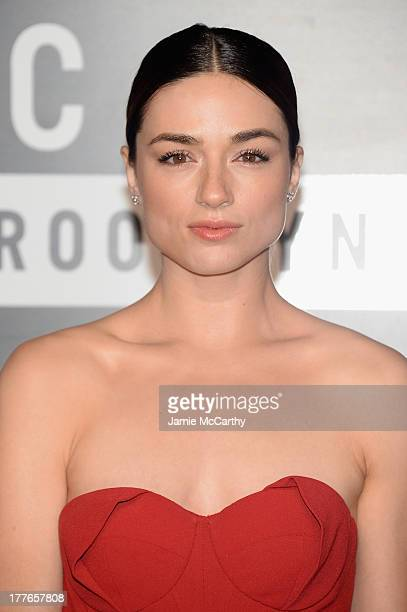 Actress Crystal Reed attends the 2013 MTV Video Music Awards at the Barclays Center on August 25 2013 in the Brooklyn borough of New York City