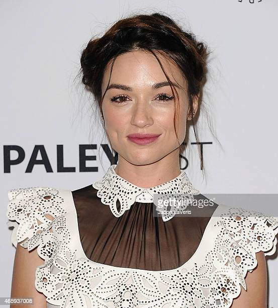 Actress Crystal Reed attends the 'Teen Wolf' event at the 32nd annual PaleyFest at Dolby Theatre on March 11 2015 in Hollywood California