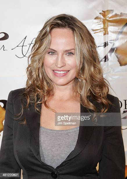 Actress Crytstal Chappell arrives at 1st Annual US Doctors for Africa New York Gala at Cipriani Wall Street on October 17 2007 in New York City