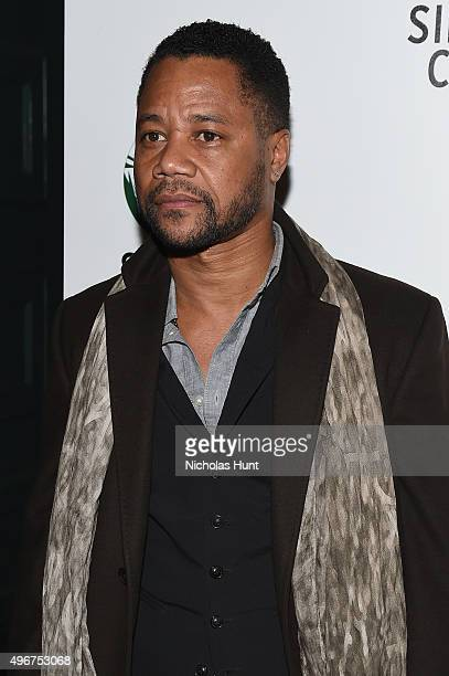 Actress Cuba Gooding Jr attends Sierra Club's Act In Paris A Night Of Comedy And Climate Action at the Heath at the McKittrick Hotel on November 11...