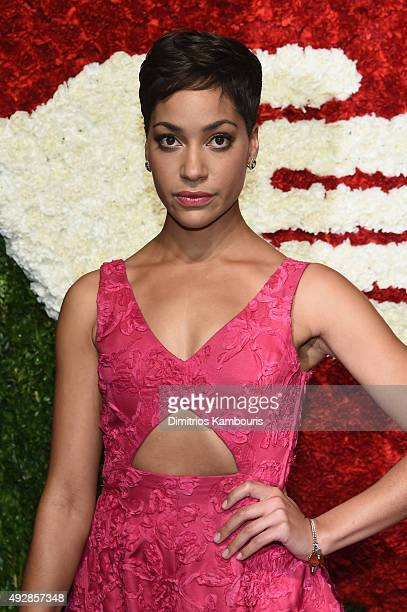 Actress Cush Jumbo attends God's Love We Deliver Golden Heart Awards at Spring Studio on October 15 2015 in New York City