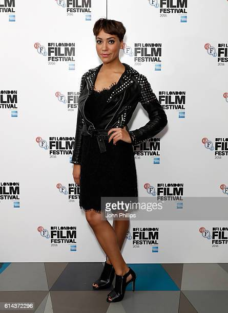 Actress Cush Jumbo attends the 'City Of Tiny Lights' screening in association with Mobo Films during the 60th BFI London Film Festival at...