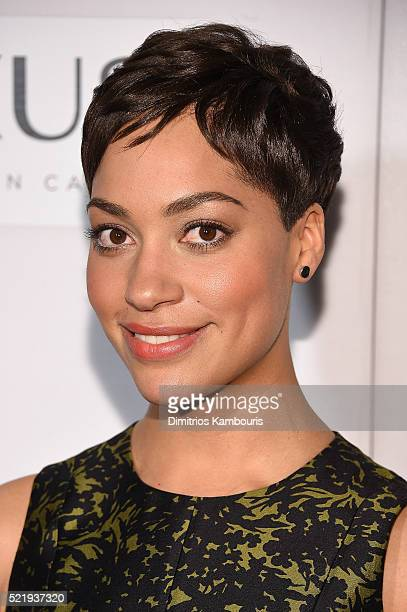 Actress Cush Jumbo attends The Good Wife Screening during the 2016 Tribeca Film Festival at John Zuccotti Theater at BMCC Tribeca Performing Arts...
