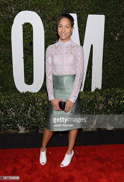 Actress Cush Jumbo attends the premiere of The Weinstein Company's Mandela Long Walk To Freedom at ArcLight Cinemas on November 11 2013 in Hollywood...