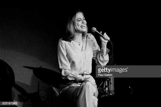 Actress Cybil Shepherd onstage Chicago Illinois April 5 1980