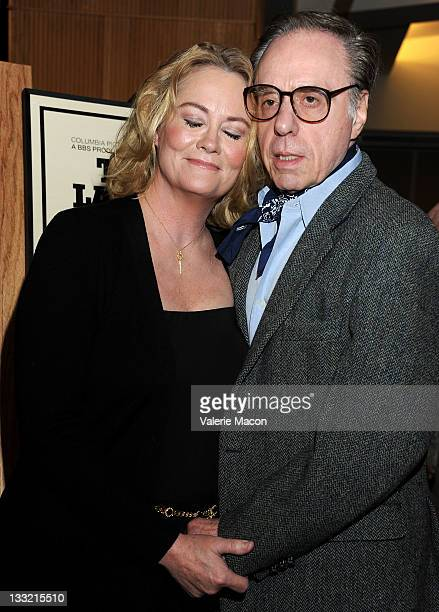 Actress Cybill Shepherd and director Peter Bogdanovich attend the The Academy Of Motion Picture Arts And Sciences' Presents The 'Definitive...