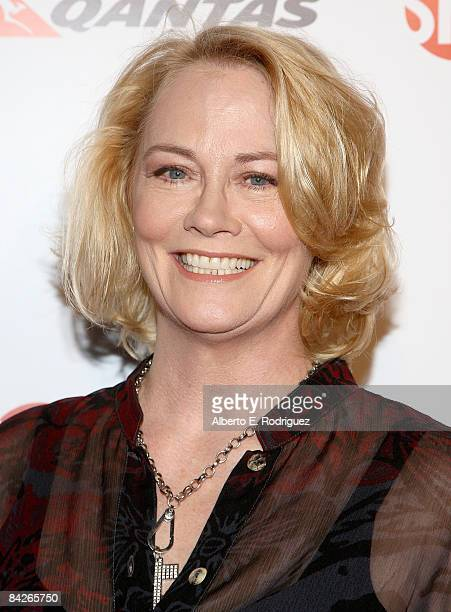 Actress Cybill Shepherd arrives at the premiere of Showtime's United States of Tara at the DGA Theater on January 12 2009 in Los Angeles California
