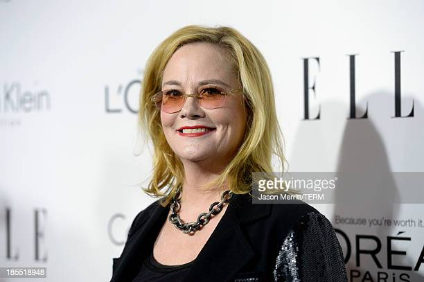 Actress Cybill Shepherd attends ELLE's 20th Annual Women In Hollywood Celebration at Four Seasons Hotel Los Angeles at Beverly Hills on October 21...
