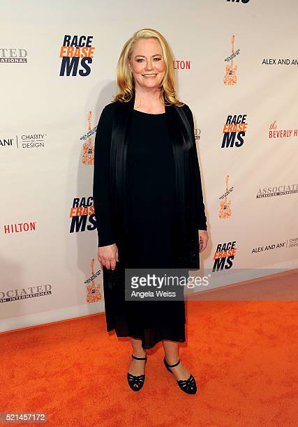 Actress Cybill Shepherd attends the 23rd Annual Race To Erase MS Gala at The Beverly Hilton Hotel on April 15 2016 in Beverly Hills California