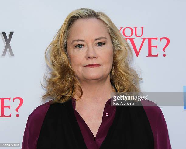 Actress Cybill Shepherd attends the Do You Believe premiere at ArcLight Hollywood on March 16 2015 in Hollywood California