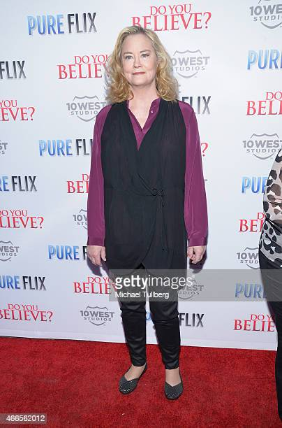 Actress Cybill Shepherd attends the premiere of Pure Flix's film 'Do You Believe' at ArcLight Hollywood on March 16 2015 in Hollywood California