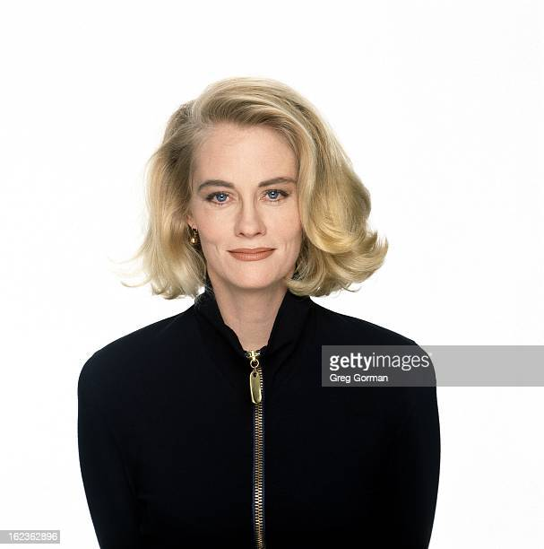 Actress Cybill Shepherd is photographed for Lear's Magazine on January 1 1991 in Los Angeles California
