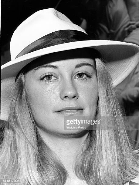 Actress Cybill Shepherd photographed outside The Plaza Hotel in New York City circa 1974