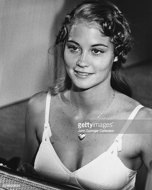 Actress Cybill Shepherd plays Jacy Farrow in the 1971 film The Last Picture Show