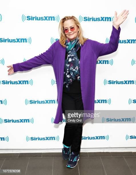 Actress Cybill Shepherd visits the SiriusXM Studios on December 12 2018 in New York City