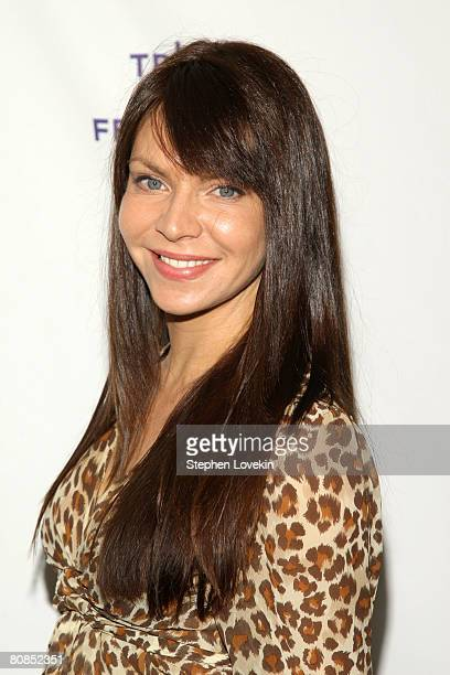 Actress Cyia Batten attends the premiere of 'Killer Movie' during the 2008 Tribeca Film Festival on April 24 2008 in New York City