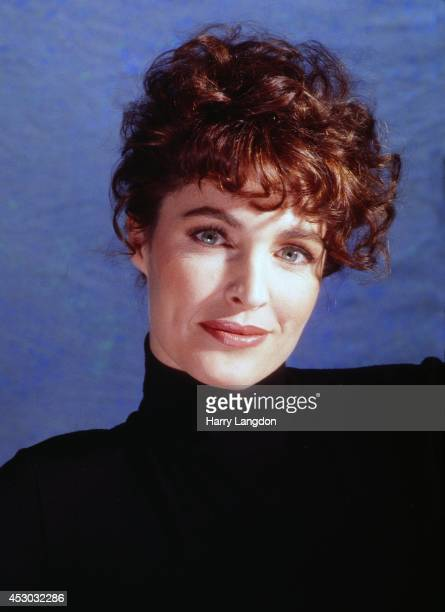 Actress Cyntha Sikes poses for a portrait in1991 in Los Angeles California