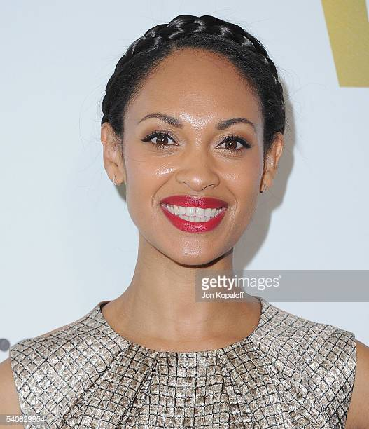 Actress Cynthia AddaiRobinson arrives at Women In Film 2016 Crystal Lucy Awards Presented By Max Mara And BMW at The Beverly Hilton Hotel on June 15...