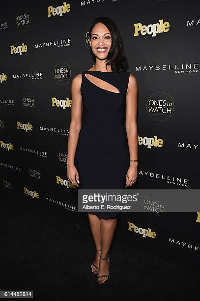 Actress Cynthia AddaiRobinson attends People's Ones to Watch event presented by Maybelline New York at EP LP on October 13 2016 in Hollywood...