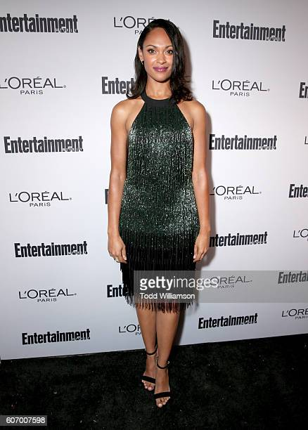 Actress Cynthia AddaiRobinson attends the 2016 Entertainment Weekly PreEmmy party at Nightingale Plaza on September 16 2016 in Los Angeles California