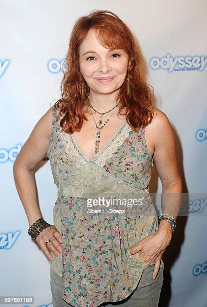 Actress Cynthia Dane arrives for the Reading Of 'The Blade Of Jealousy/La Celsa De Misma' held at The Odyssey Theatre on August 29 2016 in Los...