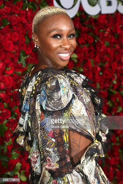 Actress Cynthia Erivo attends 70th Annual Tony Awards Arrivals at Beacon Theatre on June 12 2016 in New York City