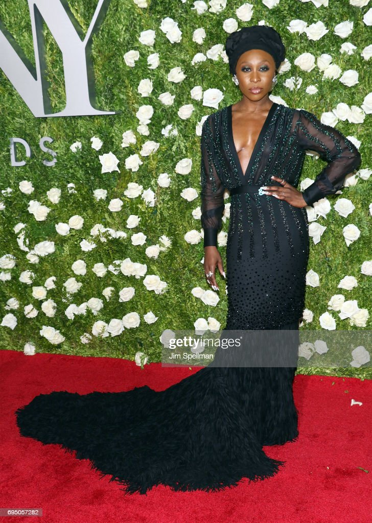 Actress Cynthia Erivo attends the 71st Annual Tony Awards at Radio City Music Hall on June 11, 2017 in New York City.
