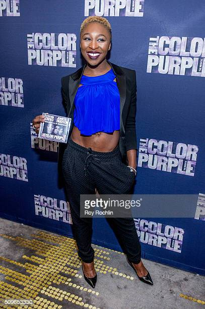 """Actress Cynthia Erivo attends """"The Color Purple"""" Listening Party at W New York - Time Square on February 11, 2016 in New York City."""