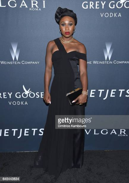 Actress Cynthia Erivo attends The Weinstein Company's PreOscar Dinner in partnership with Bvlgari and Grey Goose at Montage Beverly Hills on February...