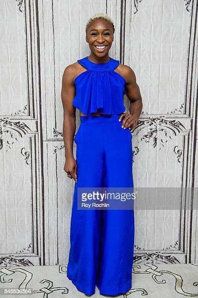 Actress Cynthia Erivo discusses The Color Purple with AOL Build at AOL Studios In New York on July 8 2016 in New York City