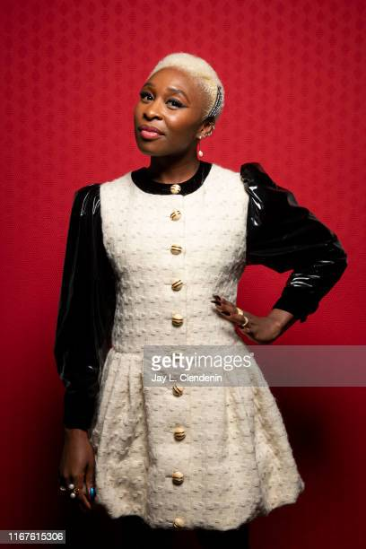 Actress Cynthia Erivo from 'Harriet' is photographed for Los Angeles Times on September 8, 2019 at the Toronto International Film Festival in...