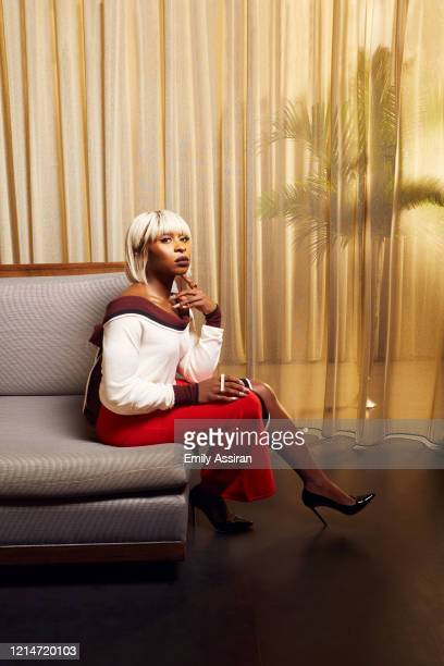 Actress Cynthia Erivo is photographed for BackStage Magazine on September 28 2018 at The Knickerbocker in New York City