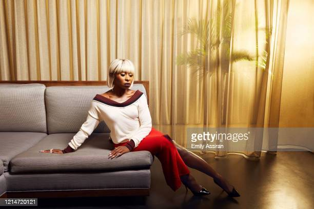 Actress Cynthia Erivo is photographed for BackStage Magazine on September 28 2018 at The Knickerbocker in New York City PUBLISHED IMAGE