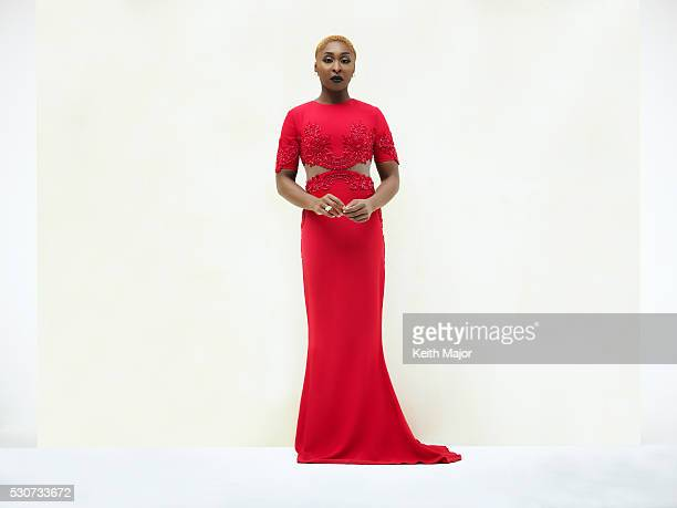 Actress Cynthia Erivo is photographed for Ebony Magazine on July 21 2015 in New York City