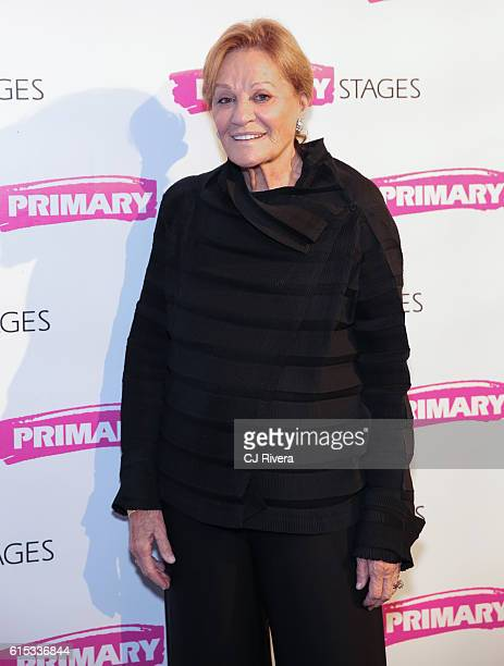 Actress Cynthia Harris attends the Primary Stages 2016 Gala at 538 Park Avenue on October 17 2016 in New York City