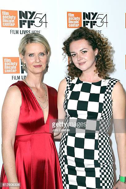 Actress Cynthia Nixon and Actress Catherine Bailey attending the 54th New York Film Festival Neruda and A Quiet Passion Screenings at Alice Tully...