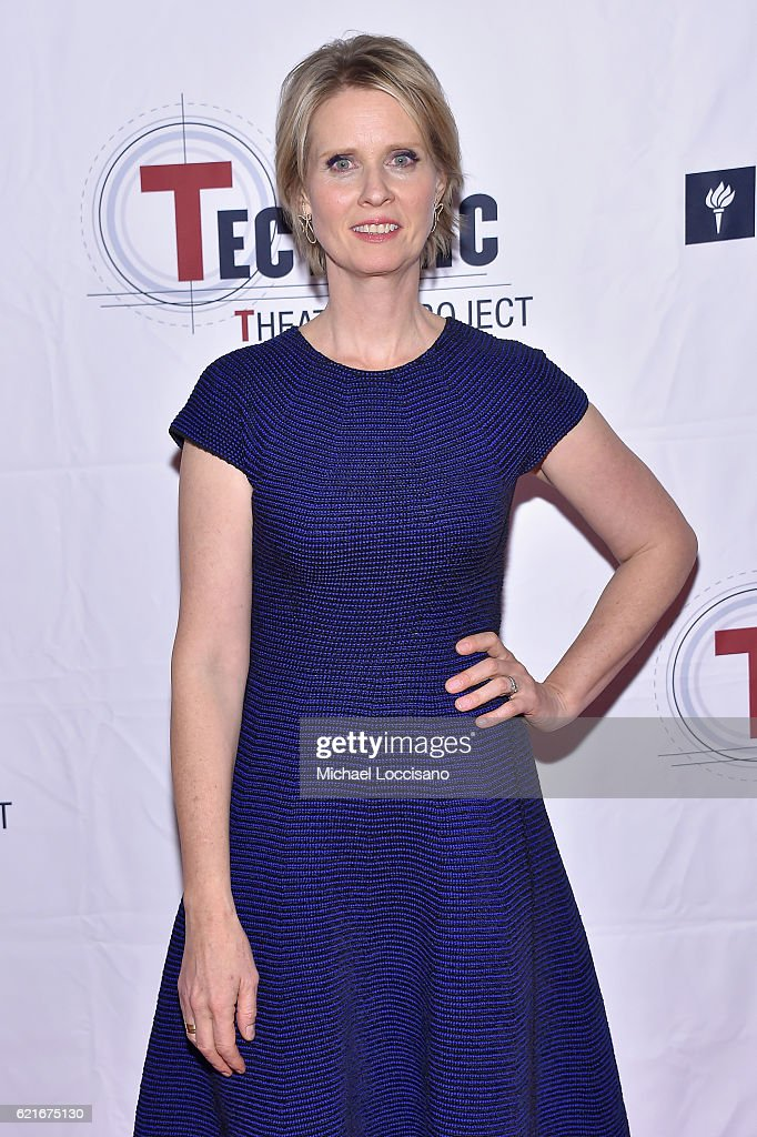 Actress Cynthia Nixon attends Tectonic At 25! at the NYU Skirball Center on November 7, 2016 in New York City.