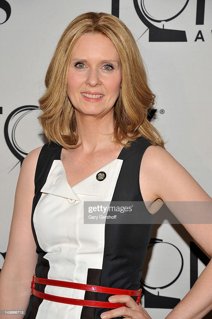 Actress Cynthia Nixon attends the 2012 Tony Awards - Meet The Nominees Press Reception at Millennium Broadway Hotel on May 2, 2012 in New York City.