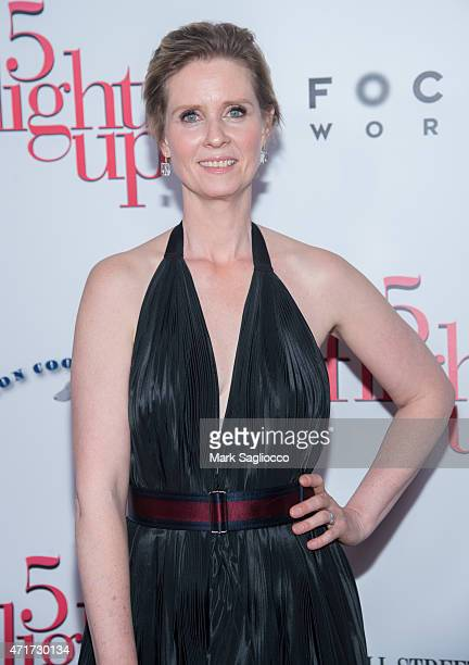 Actress Cynthia Nixon attends the '5 Flights Up' New York Premiere at BAM Rose Cinemas on April 30 2015 in New York City