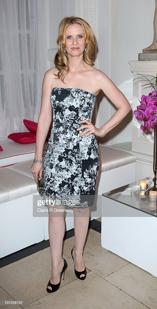 Actress Cynthia Nixon attends the after party following the UK premiere of 'Sex And The City 2' at The Orangery, Kensington Gardens on May 27, 2010 in London, England.