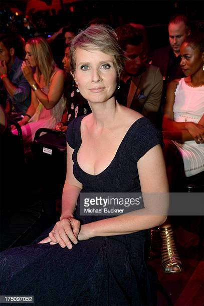 Actress Cynthia Nixon attends the DoSomethingorg and VH1's 2013 Do Something Awards at Avalon on July 31 2013 in Hollywood California