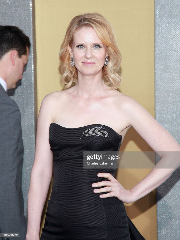 Actress Cynthia Nixon attends the premiere of 'Sex and the City 2' at Radio City Music Hall on May 24, 2010 in New York City.
