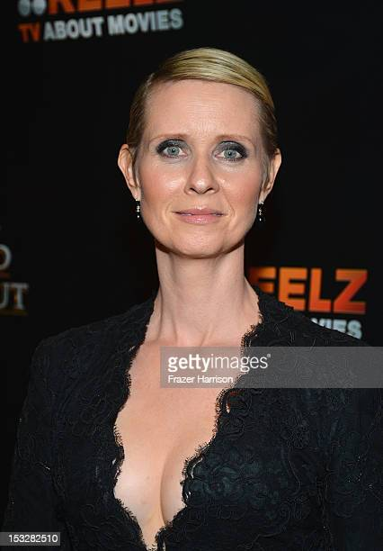 Actress Cynthia Nixon attends the screening of 'World Without End' presented by ReelzChannel at The Grove on October 2 2012 in Los Angeles California